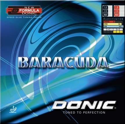 Накладки для ракеток настольного тенниса Donic Baracuda max Red/ Black