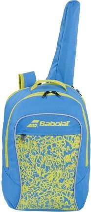 """Рюкзак спорт. """"BABOLAT Junior Club"""" арт.753083-325 с карм. под 1 тен.ракетку, сине-зеленый"""