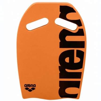Доска для плавания Arena Kickboard ярко-оранжевая/черная