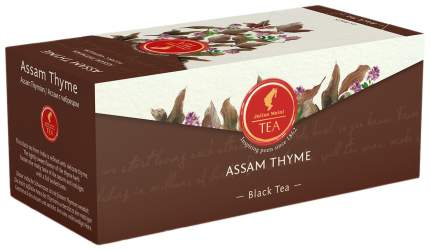 Чай черный Julius Meinl Assam thyme, 25 пак