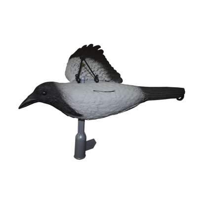 Муляж вороны Sport Plast FLCR31-10 серая, летящая