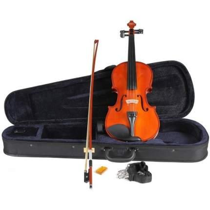 Скрипка Мастеровая Cremona 331w 4/4 , Комплект (кейс + смычок)