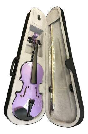 Скрипка Brahner Bvc-370/mpp, 4/4, цветфиолетовый металик, комплекткейс, смычок