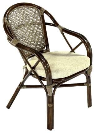 Садовое кресло Экодизайн Ellena 11/21-В Б (Н88) brown 62х60х88 см