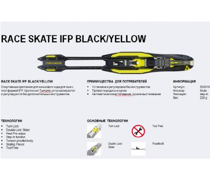Крепление лыжное NNN Fischer RACE STEP-IN SKATE IFP S55020