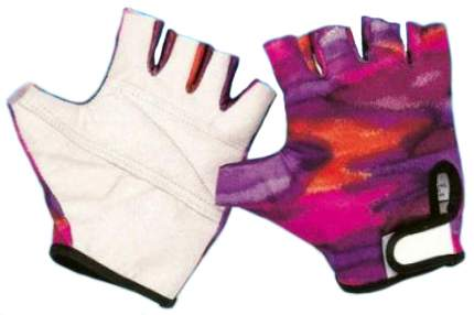 Велоперчатки TBS FTB11412, белый/розовый, M