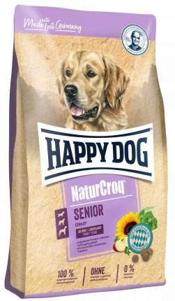 Сухой корм для собак Happy Dog NatureCroq Senior, для пожилых, домашняя птица, 4кг