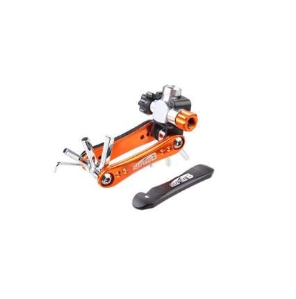 Велосипедный мультитул Super B TB-FD60 10 в 1 оранжевый