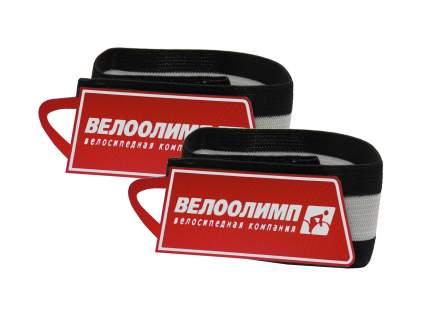 Mingda Нарукавники световозвращающие красные с логотипом, 2 шт., в торговой упаковке