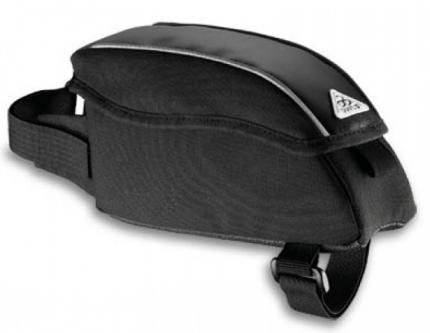 Сумка для велосипеда на раму передняя sh-22, 16х4х8см, чёрная