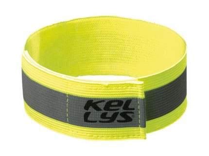 Нарукавник отражающий kellys twilight, желтый, размер: s/м , 4х40 см, 2 шт в наборе.