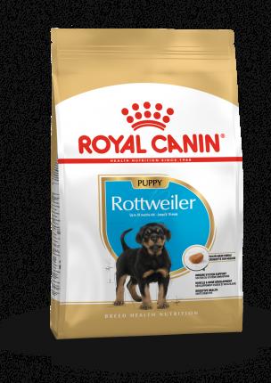 Сухой корм для щенков ROYAL CANIN Rottweiler Junior, птица, 12кг