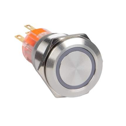 Кнопка S-Pro67 19 мм без фикс. с белой подсв. 24В EKF PROxima