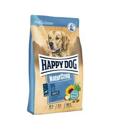 Сухой корм для собак Happy Dog NatureCroq XXL, для крупных и гигантских пород, птица, 15кг