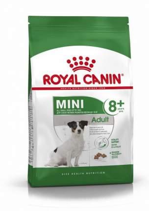 Сухой корм для собак ROYAL CANIN Adult 8+ Mini, рис, птица, 4кг