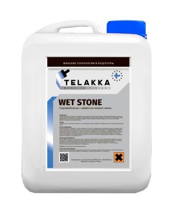 Гидрофобизирующая пропитка с эффектом мокрого камня Telakka GIDROFOB WET STONE 5л