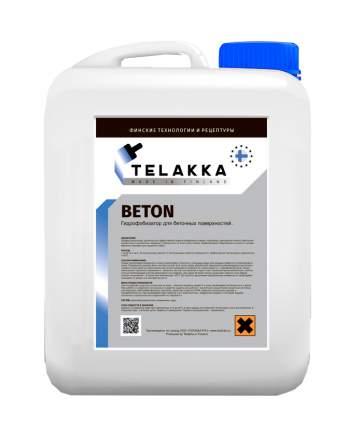 Гидрофобизирующая пропитка для защиты бетонных поверхностей Telakka GIDROFOB BETON 5л
