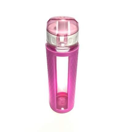 Бутылка для воды с вакуумным клапаном (Цвет: Розовый  )