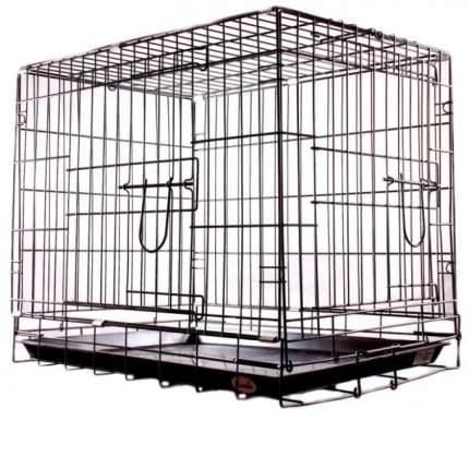 Клетка для собак KREDO 44x61x50см, 2 двери
