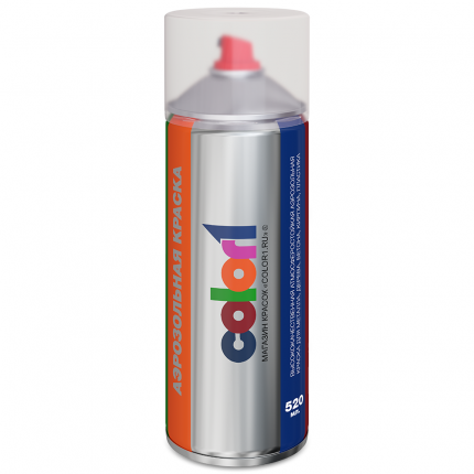 Аэрозольная краска COLOR1 0Q0QAUDIaer цвет 0Q0Q - PURE WHITE, PURE WEISS, WHITE