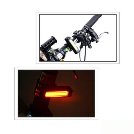 Универсальный водонепроницаемый задний фонарь с USB-зарядкой MoscowCycling MC-LED-02