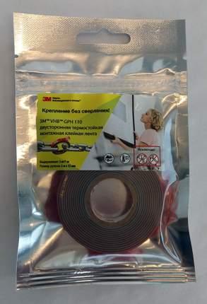 Монтажная лента VHB™ GPH 110 12 мм х 2 м, двусторонняя термостойкая клейкая