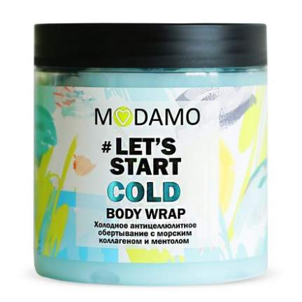 MODAMO, Обертывание холодное антицеллюлитное, 500 мл