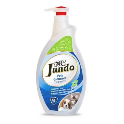 Гель для уборки за домашними животными Jundo Pets cleanser с ионами серебра, 1 л
