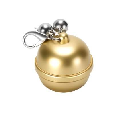 GPS трекер для животных Box69 /G15 в виде колокольчика с ошейником, золотой