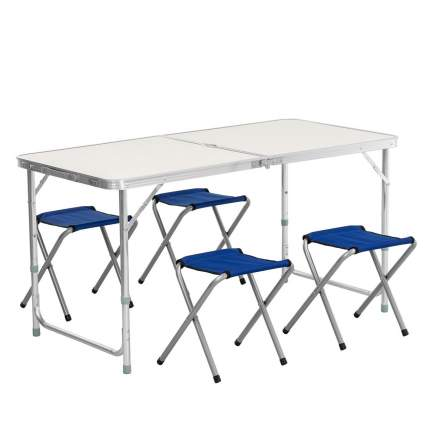 Набор мебели, стол + 4 табурета (PR-HF10471-1)