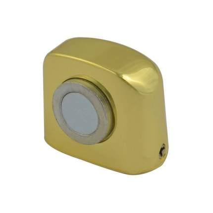Ограничитель двери НОРА-М 802 магнитный, напольный - Золото