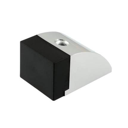 Ограничитель двери НОРА-М 119 напольный - Хром