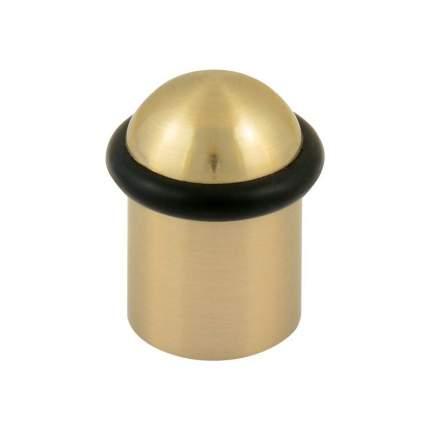 Ограничитель двери НОРА-М 117 напольный - Матовое золото
