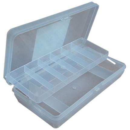 Коробка Тривол ТИП-5 прозрач. 210х110х50мм, двухъярусная c микролифтом