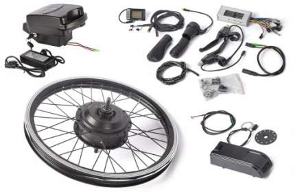 "Мотор колесо для велосипеда 48V 500W LCD 20"" + АКБ 48V 10А/ч (FROG)/22922"