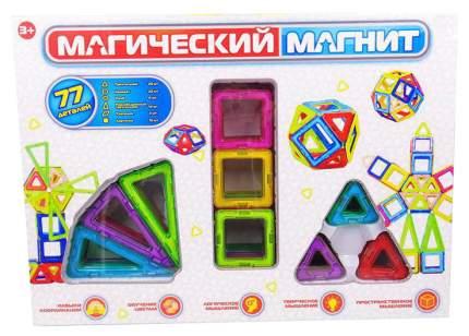 Конструктор Junfa Toys Магический магнит 77 деталей PT-01354
