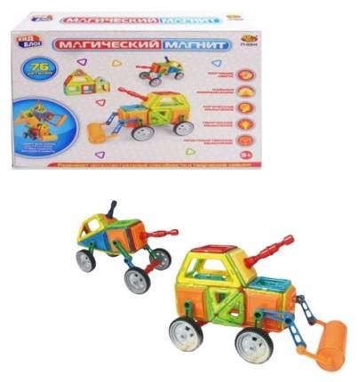 Конструктор Junfa Toys Магический магнит 76 деталей PT-01349