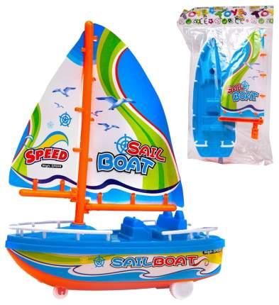Заводная игрушка ABtoys Лодка парусная 535-6