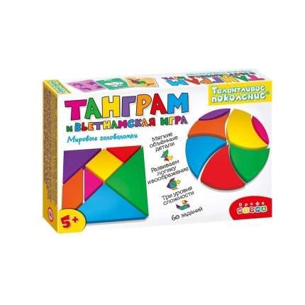 Головоломка Дрофа-Медиа Талантливое поколение Танграм и вьетнамская игра 3825
