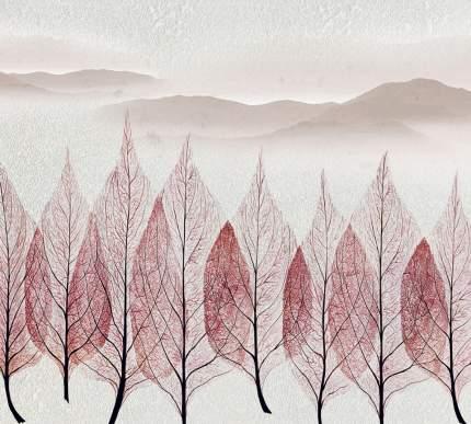 """Фотообои Divino Decor """"Листья на фоне гор 300х270"""""""