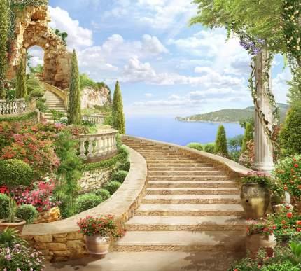 Фотообои Divino Decor Лестница к арке 300х270