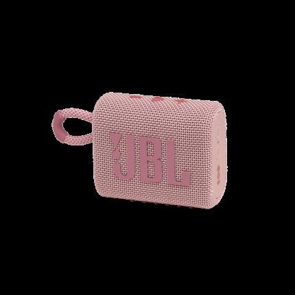 Портативная колонка JBL Go 3 Pink
