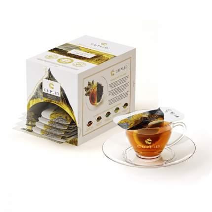 """Чай Cuplid """"Earl grey"""", черный листовой, с добавками, 25 пакетиков по 2 гр"""