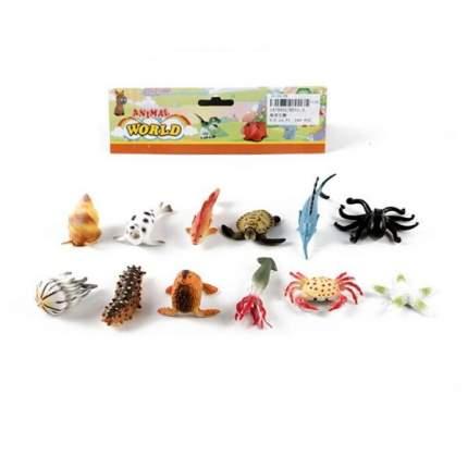Игровой набор Морские животные, 12 фигурок Shantou