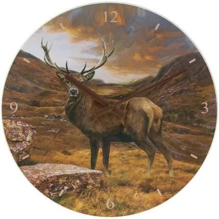 Часы настенные Олень D 30см