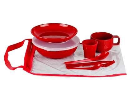 SOLARIS набор посуды на 1 персону «Командировочный»