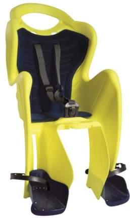 BELLELLI Сидение заднее Mr Fox Relax B-Fix, Hi-Viz, светоотражающее, жёлтое, до 22кг