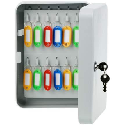 Ключница OfficeSpace на 48 ключей с брелоками 250 х 180 х 80 мм