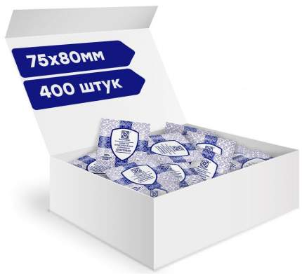 Салфетки антисептические стерильные спиртовые Асептика 400 шт. 75 х 80 мм саше