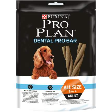 Лакомство для собак PRO PLAN Dental Pro Bar, палочки, домашняя птица, 150г